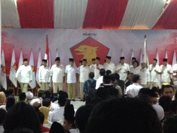 Ini Susunan Pengurus Inti Gerindra, Prabowo Ketum Sekaligus Ketua Wanbin