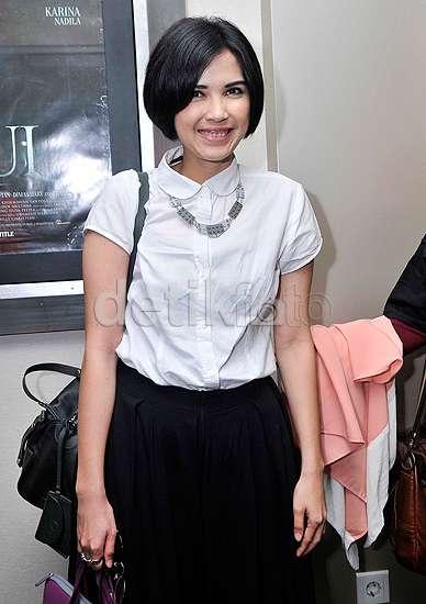 Dinda Kanya Dewi Eksis di Pemutaran Film 'Tuyul'