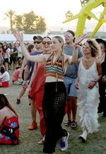 Gaya Katy Perry di Festival Coachella 2015