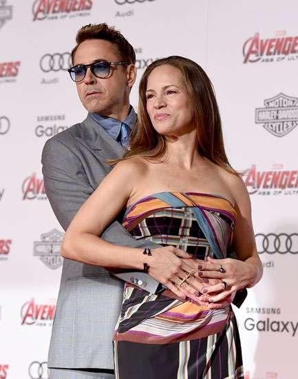 Pasangan Paling Hot di Premiere 'Avengers: Age of Ultron'