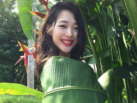 Mengintip si Cantik Sulli 'f(x)' Pemotretan di Bali