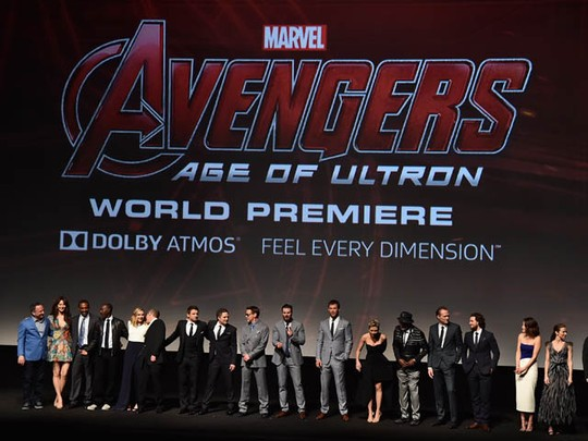 Suasana Meriah Premiere 'Avengers: Age of Ultron' di Hollywood
