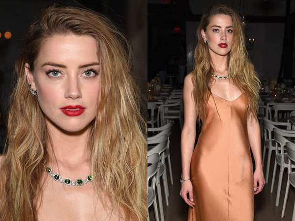 Amber Heard: No Bra, No Problem!
