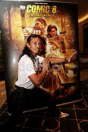 Suasana Perilisan Teaser Poster dan Trailer Film 'Comic 8: Casino Kings'