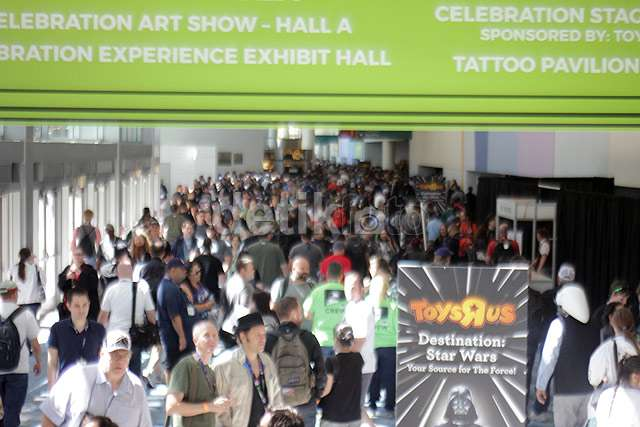 Kemeriahan Pembukaan Star Wars Celebration 2015