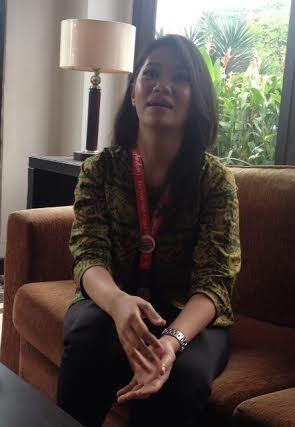 Pavita, salah satu caregivers yang mendampingi keluarga korban QZ8501