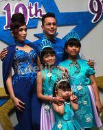 Meriahnya Ultah Anak Andhika dan Ussy Sulistyawati