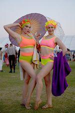 Cinta Laura, Mumi Hingga Pastur Eksis di Coachella 2015