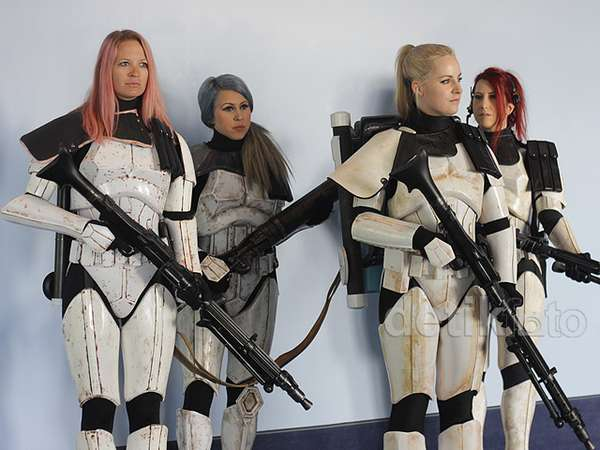 Parade Kostum di Star Wars Celebration 2015