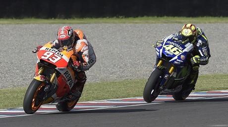Usai Dijatuhkan Rossi, Marquez: Dia Tetap Idolaku
