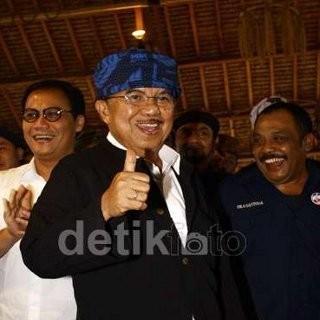 Wapres JK Dukung Komjen BG Jadi Wakapolri, Sebut Jokowi Tak Keberatan