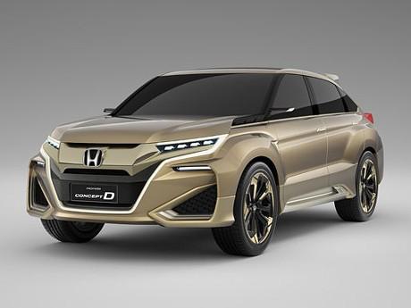 Kenalkan SUV Anyar Honda, Concept D