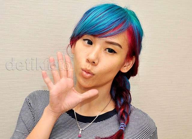 Warna Rambut Baru Cherly 'Cherrybelle', Seperti Permen!