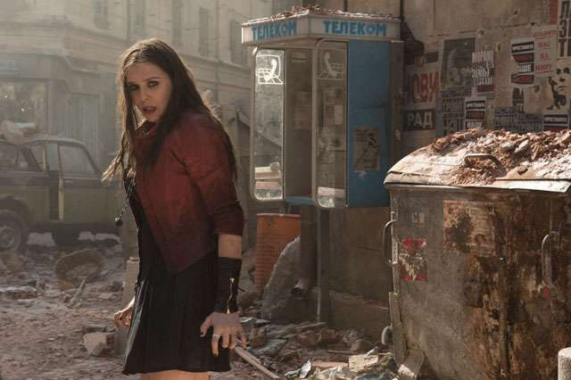 Ini Aksi Quicksilver dan Scarlet Witch di 'The Avengers: Age of Ultron'