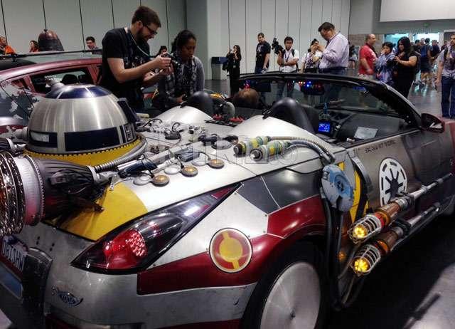 Penggemar Star Wars Pamer Mobil Unik Mereka
