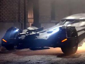 Ini Bocoran Tampilan Batmobile Terbaru