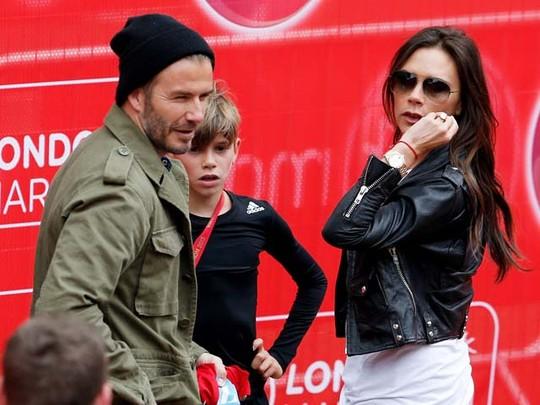 Family Time! Kompaknya Keluarga David Beckham