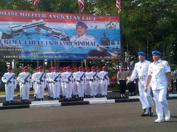 Laksma TNI Muchamad Richad Resmi Jabat Danpuspomal yang Baru