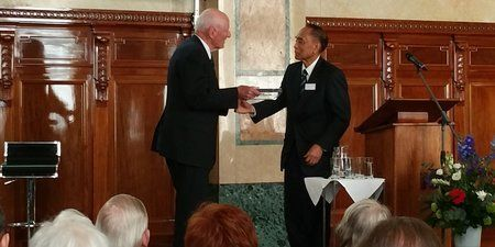 Dr Arifin Siregar Dianugerahi Linggarjati Award di Belanda