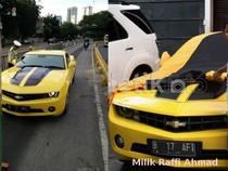 Kagetnya Raffi Tahu Bumblebee-nya Ditilang karena Serobot Busway