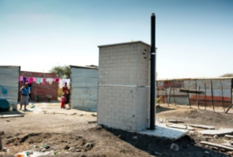 toilet umum di Afrika Selatan (Foto: Reuters/Getty Images)