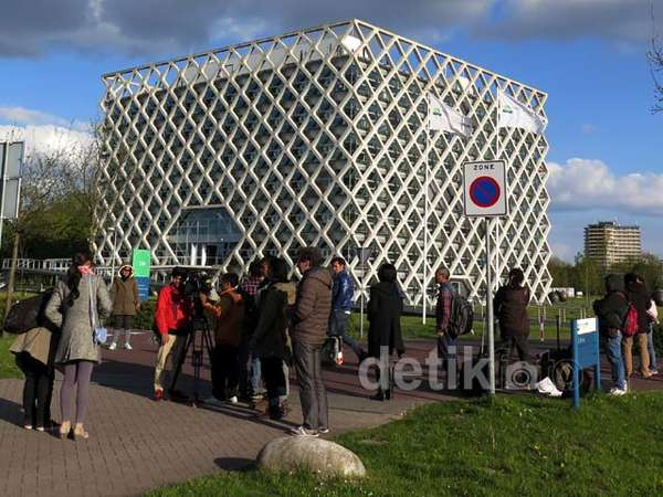 Kampus Modern Wageningen, Jadi Lokasi Syuting Negeri van Oranje