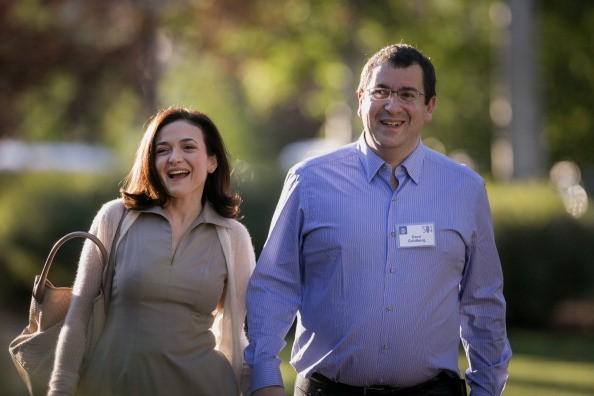 Sheryl dan Dave (gettyimages)