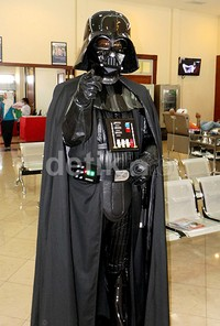 You don't know the power of the dark side, kata Darth vader.