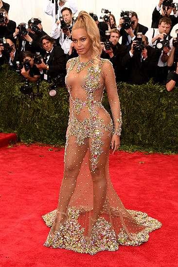 Hot Alert! Beyonce Super Vulgar di Met Gala 2015