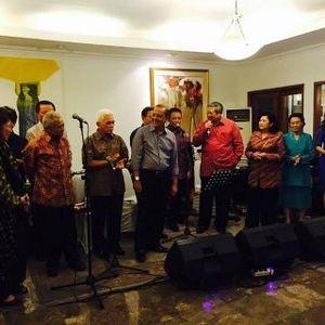 Pensiunan Kabinet SBY Reunian, Bahas Ekonomi Hingga Nyanyi