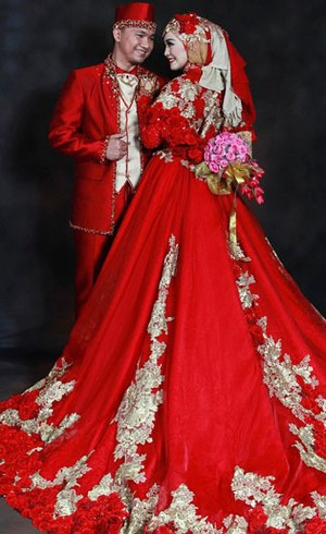 Inspirasi Busana Pengantin Syari dari Para Desainer Untuk Pernikahan