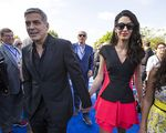 George Clooney dan Istrinya yang Menawan