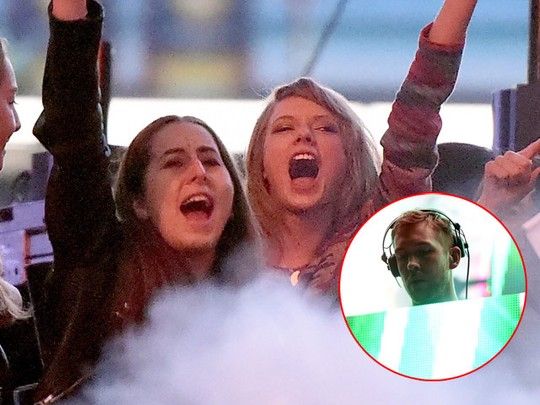 Nonton Calvin Harris, Taylor Swift Joget Terus!