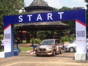 Datsun Ajak 500 Lebih Risers Keliling Nusantara