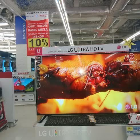 Tv Ultra Hd 60 Inch Harga Miring Diburu Di Carrefour