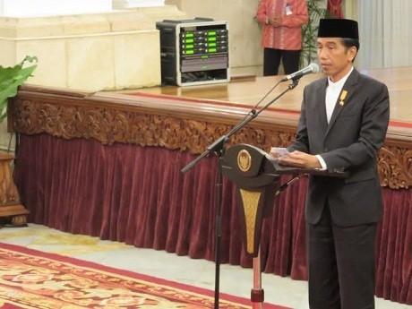 Peringati Isra Miraj, Jokowi: Jangan Saling Ejek, Mari Kita Bangun Bangsa