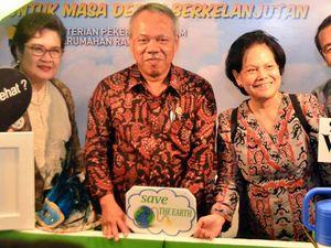 Menteri Basuki Buka Climate Change Education Forum & Expo