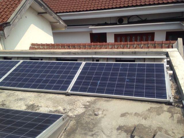 Foto Solar Cell Rumah di Menteng (Zulfi-detikFinance)