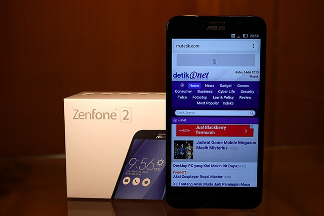 Asus Zenfone 2: RAM 4 GB Luar Biasa!