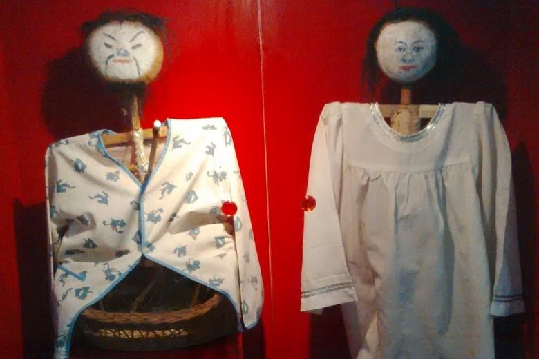 Boneka Jelangkung dan Nini Towok (Imam/detikTravel)