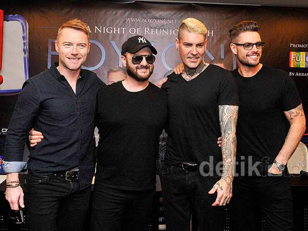 Boyzone Siap Bernostalgia di Jakarta