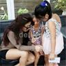 Kebersamaan Vitalia Sesha dan Dua Putri Kesayangannya