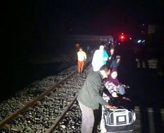 Kesaksian Penumpang KA Bangunkarta Sebelum Tabrakan Kereta Terjadi