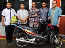 Mahasiswa Buat Motor BBG