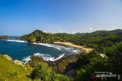 Ide Liburan Waisak di Yogyakarta: Pantai Siung