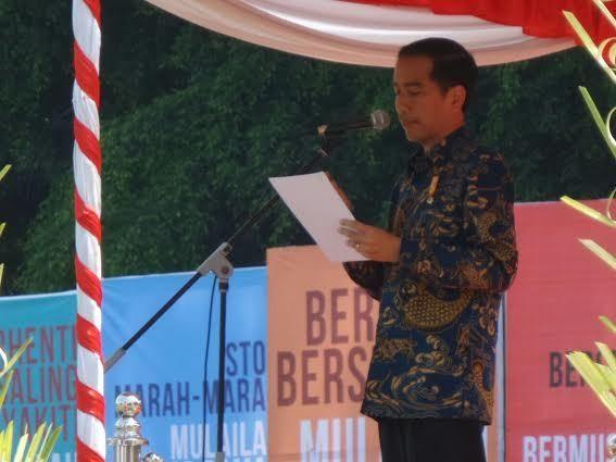 Jokowi: Setiap di Blitar, Hati Saya Selalu Bergetar