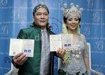 Foto-foto Pernikahan Iwa K dan Wikan