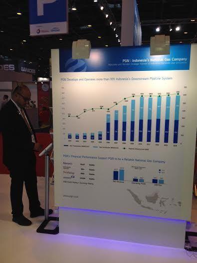 Foto: PGN di World Gas Conference, Paris