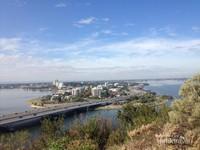 Landscape Kota Perth dari Botanic Garden