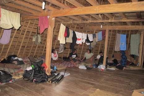 Traveler tidur bareng di Wae Rebo (Shafa/detikTravel)